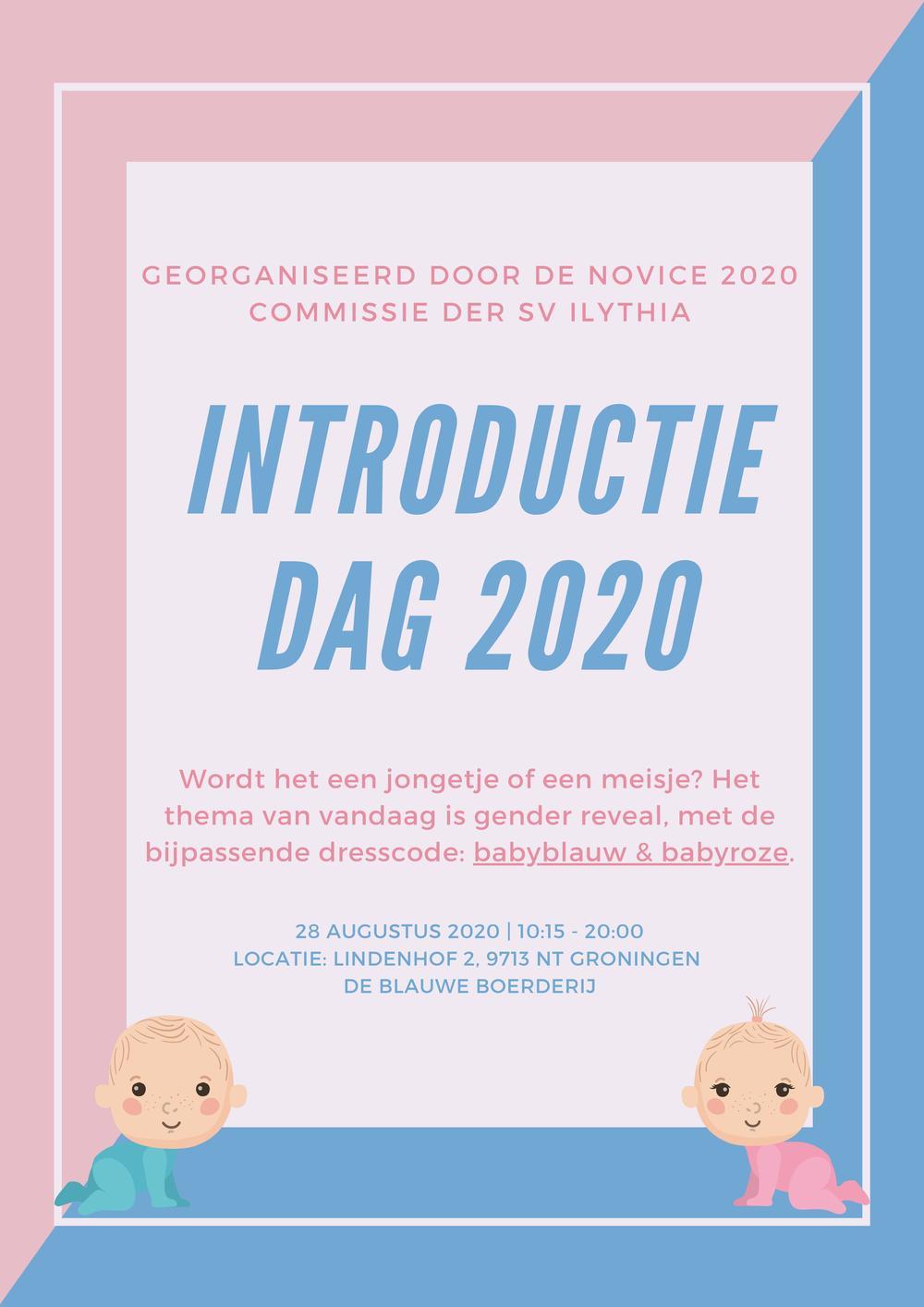 Introdag cohort 2020